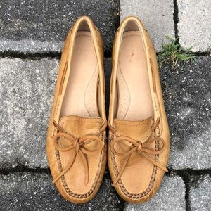 Frye Leather Moccasins